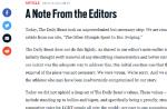 """JO de Rio 2016 : """"The Daily Beast"""" retire son article sur les athlètes gay"""
