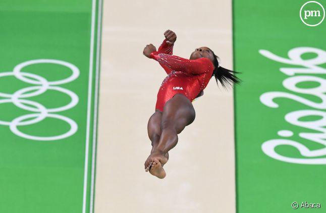 L'Américaine Simone Biles est déjà triple championne olympique