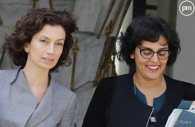 Audrey Azoulay et Myriam El Khomri