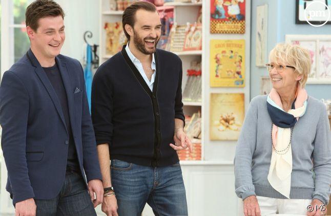 Christophe Renou, Cyril Lignac et Mercotte