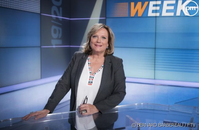 "Catherine Matausch présente le ""19/20"" week-end"