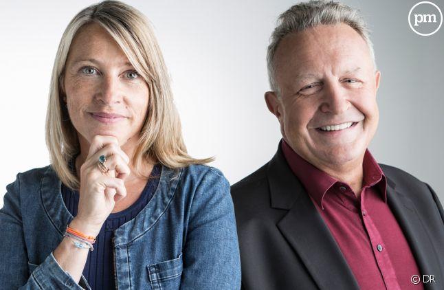 Caroline Got et Michel Field, France Télévisions.