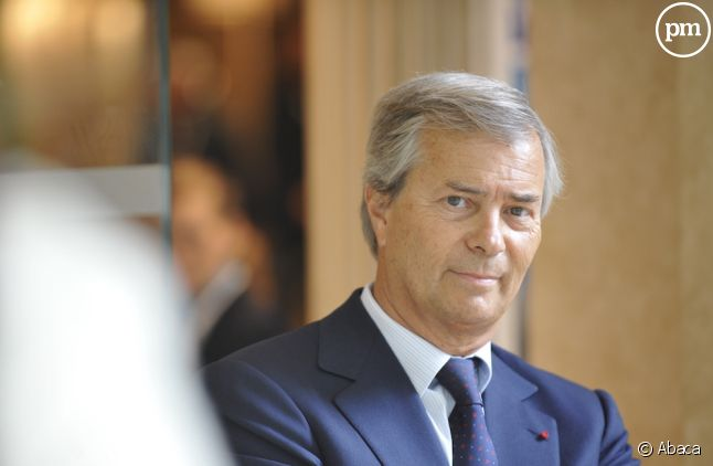 Vincent Bolloré, Canal+.