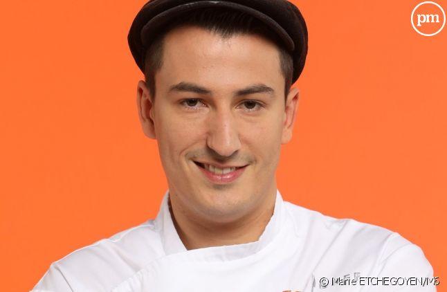 """Jérémie, candidat de """"Top Chef 2017 : Le Choc des brigades"""""""