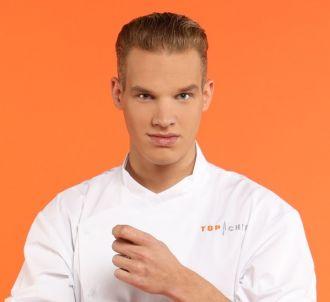 Maximilien, candidat de 'Top Chef 2017 : Le Choc des...