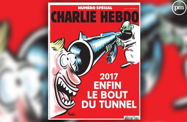 """Le N° 1276 de """"Charlie Hebdo""""."""