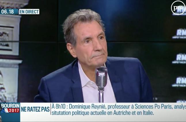 Jean-Jacques Bourdin, sur RMC.