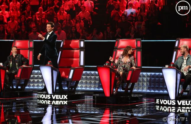 "Le plateau de ""The Voice"" saison 6"