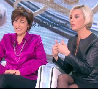 Laurence Ferrari était l'invitée du 'Tube' de Canal+.