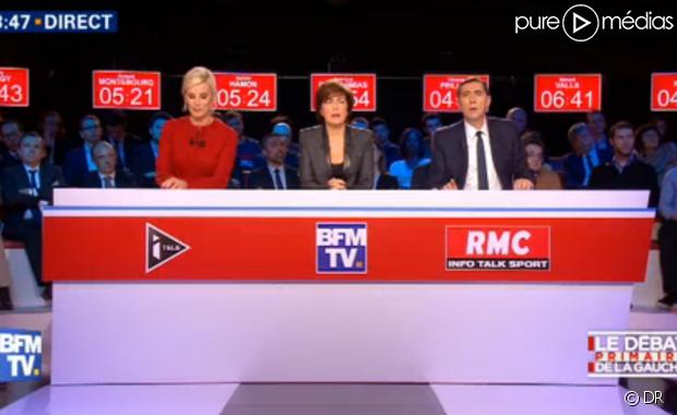 politique primaire gauche programme deuxieme debat tele bfmtv itele