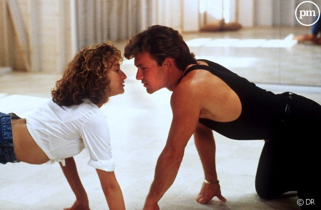 "Jennifer Grey et Patrick Swayze dans ""Dirty Dancing"""