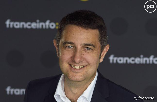 Laurent Guimier, le patron de franceinfo