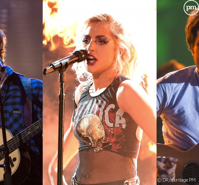 Ed Sheeran, Lady Gaga et Vianney