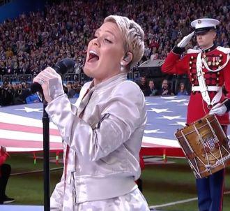 La prestation époustouflante de Pink lors du Super Bowl...