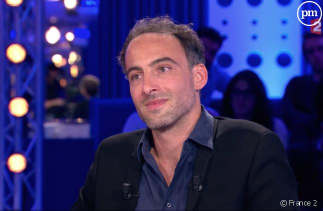"""Raphael Glucksmann (capture d'écran d'""""On n'est pas couché"""")"""