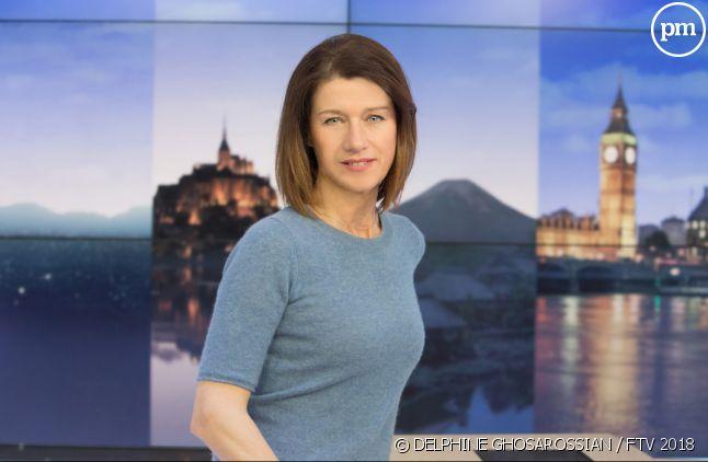 "Carole Gaessler, présentatrice du ""19/20"""