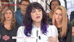 """""""Laisse-moi tranquille"""" : Asia Argento très agacée par les questions de Mouloud Achour sur """"l'affaire Jimmy Bennett"""""""