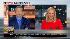 """Treize ans après """"Sept à Huit"""", Thomas Hugues et Laurence Ferrari se retrouvent sur CNews"""