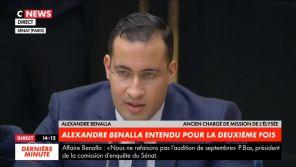 """""""Leur seul intérêt est de connaître la couleur de mes chaussettes""""  : Alexandre Benalla flingue les médias au Sénat"""