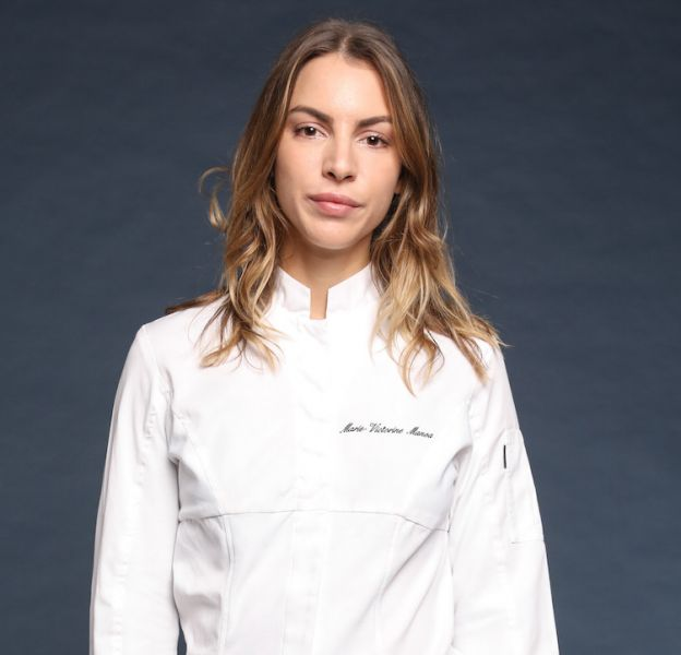 """Marie-Victorine Manoa, 26 ans, chef de son restaurant """"Le mercière"""" à Lyon."""