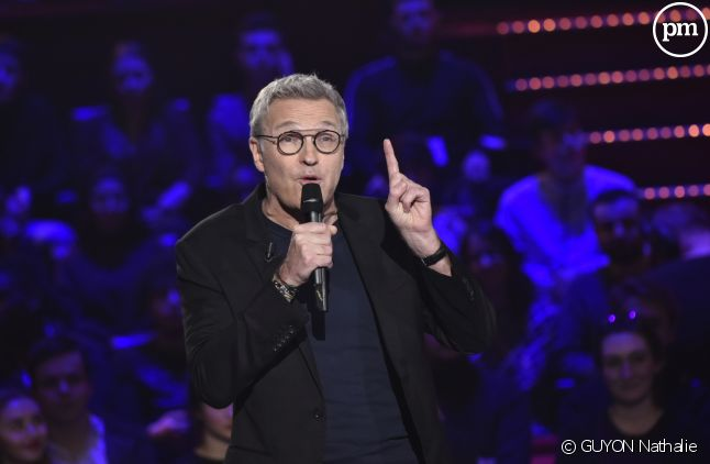 "Laurent Ruquier et le jury du ""Grand Oral"""