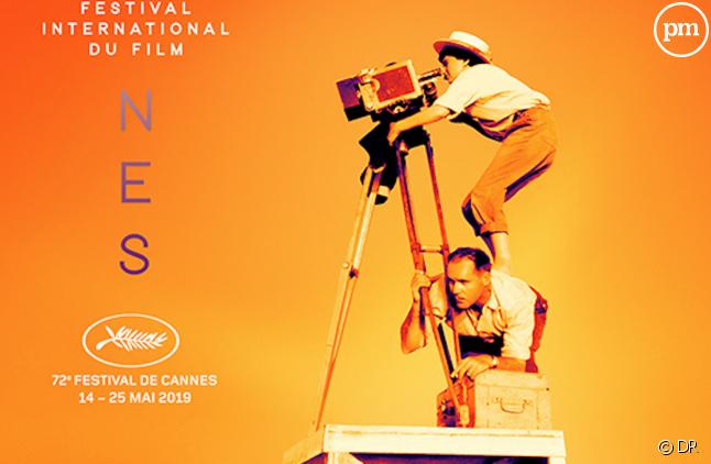 L'affiche officielle de la 72e édition du festival de Cannes