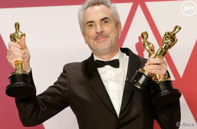 """Alfonso Cuaron était reparti des Oscars 2019 avec trois statuettes grâce à """"Roma"""", film Netflix"""