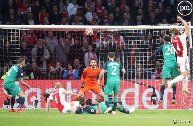 Ajax/Tottenham hier
