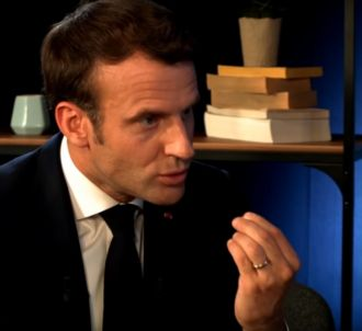 Emmanuel Macron en interview sur Youtube