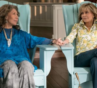 Lily Tomlin et Jane Fonda dans 'Grace et Frankie'