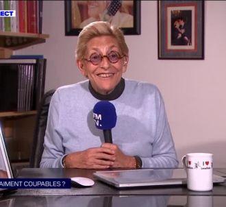 Isabelle Balkany sur BFMTV
