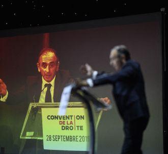 Eric Zemmour à la 'convention des droites'.