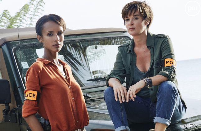 """Sonia Rolland et Béatrice de la Boulaye dans """"Tropiques criminels"""""""