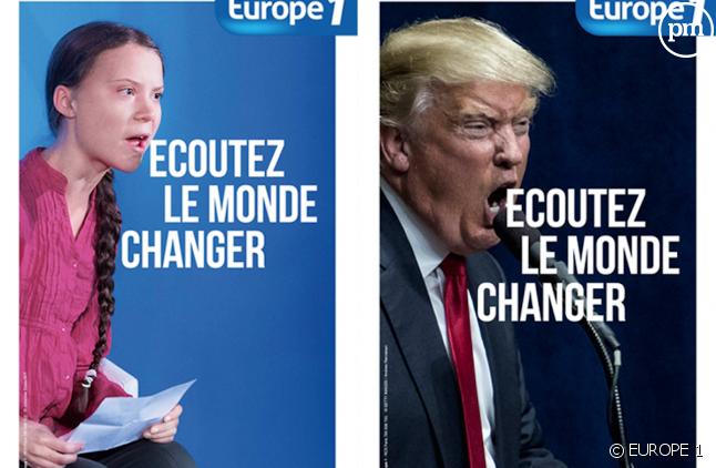 """""""Ecoutez le monde changer"""", nouveau slogan d'Europe 1"""