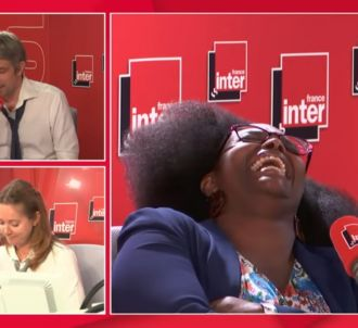 Sibeth Ndiaye pleure de rire sur France Inter