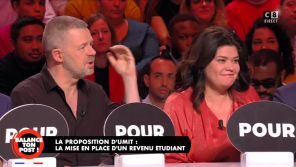 """""""Tu casses les couilles de tout le monde !"""" : Gros clash entre Eric Naulleau et Raquel Garrido dans """"Balance ton post"""""""