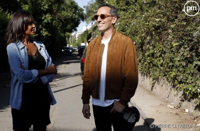"""Karine Le Marchand et Gad Elmaleh dans """"Une ambition intime"""""""