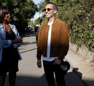 Karine Le Marchand et Gad Elmaleh dans 'Une ambition intime'