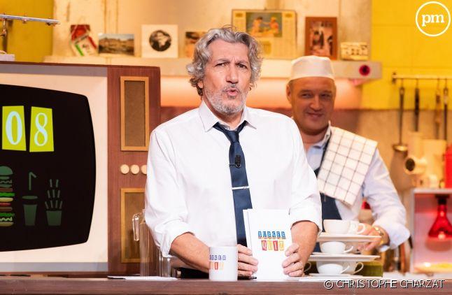 """Alain Chabat arrêtera """"Burger Quiz"""" à la fin de la saison"""