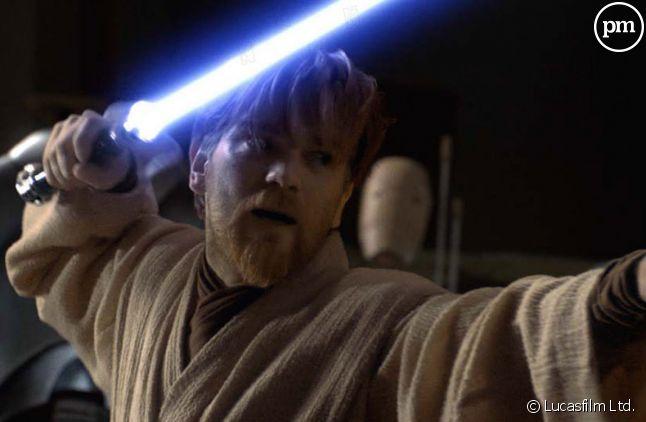 """Ewan McGregory incarne Obi-Wan Kenobi dans la saga """"Star Wars""""."""