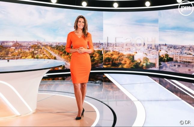 Anne Claire Coudray sur TF1