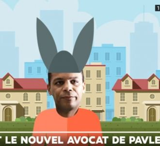 L'avocat Yassine Bouzrou affublé d'un bonnet d'âne sur LCI
