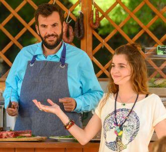 Laurent Ournac et Esther Valding dans 'Camping Paradis'