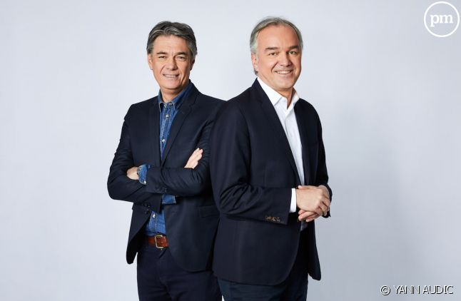 """Alain Marschall et Olivier Truchot (""""Les Grandes Gueules"""")"""