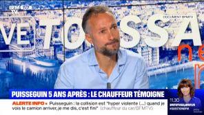 Accident meurtrier en Gironde : Le témoignage poignant du chauffeur de bus sur BFMTV