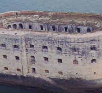 Le fort Boyard en ruines
