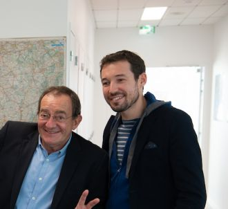 Jean-Pierre Pernaut prend la pose