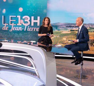 Jean-Pierre Pernaut lors des hommages rendus par la...