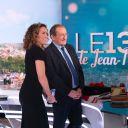 Jean-Pierre Pernaut avec sa successeur, Marie-Sophie Lacarrau