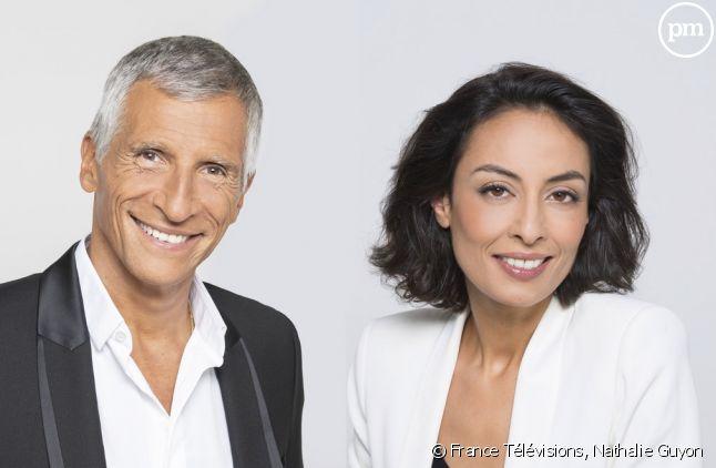 Nagui et Leïla Kaddour.